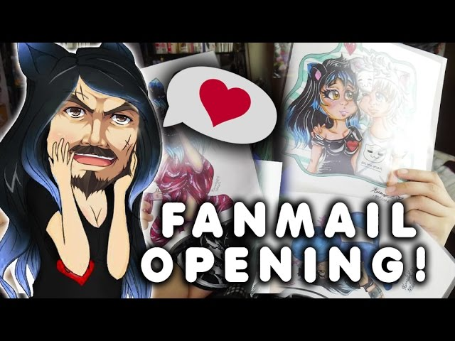opening-my-fanmail-and-fanmail-that-isn-t-mine-sorry
