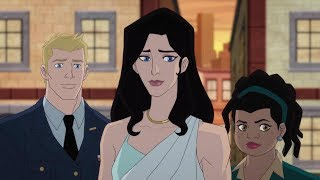 """Wonder Woman Bloodlines - """"diana Meets The Kapatelis Family"""" Exclusive"""