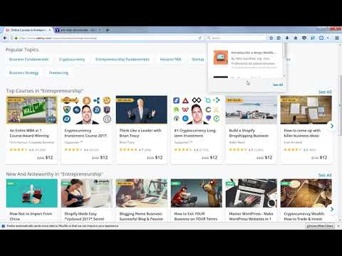 Free Download Udemy Videos Offline in Single click 100