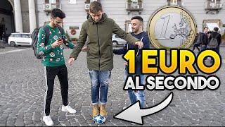 💶 REGALO 1 EURO per ogni SECONDO sul PALLONE! ⚽