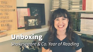 Unboxing | Shakespeare & Co. - Year of Reading Box