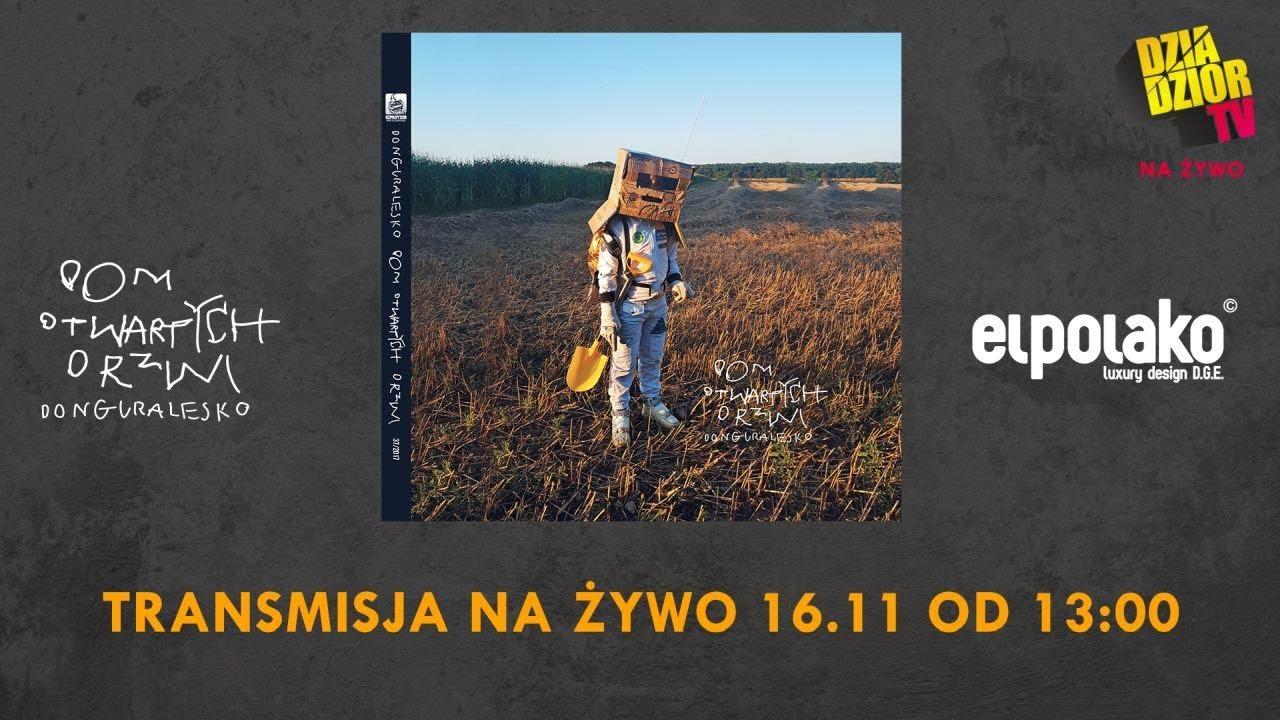 donGURALesko – Dom Otwartych Drzwi (NA ŻYWO: Słuchamy płyty, podpisujemy płyty i Q&A)
