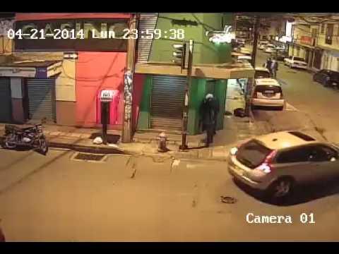 Robo en Casino Bello Antioquia camara 01