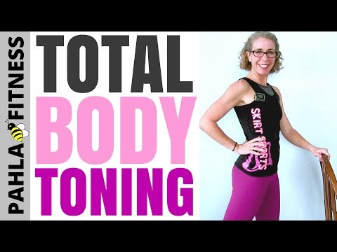 20 Minute Total Body TONING Workout for BEGINNERS | No Squats, No Weights + No Floor Work!