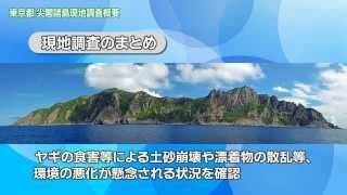 東京都尖閣諸島現地調査記録映像(3)