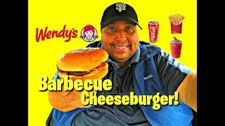 Wendy's® Barbecue Cheeseburger REVIEW!