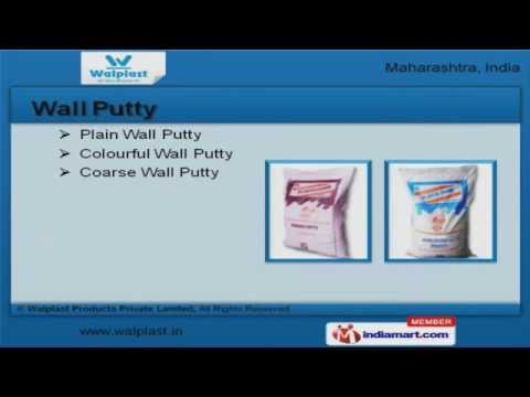 Wall Putty by Walplast Products Private Limited, Navi Mumbai - YouTube