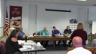 Lakeview Town Council Regular Session 4-24-18 thumbnail