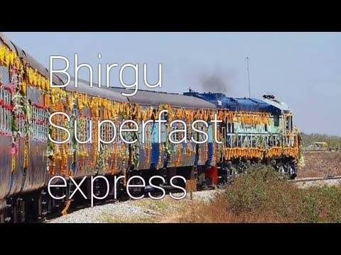 22427/22428 Bhirgu Superfast Express