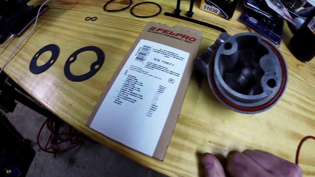 Impala Project - LT1 V8 Engine Oil Filter Cooler Adapter ...
