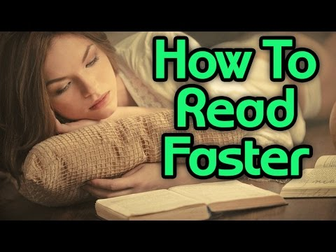 My Secrets to SPEED READING - How to Read Faster and Learn from Books Quicker