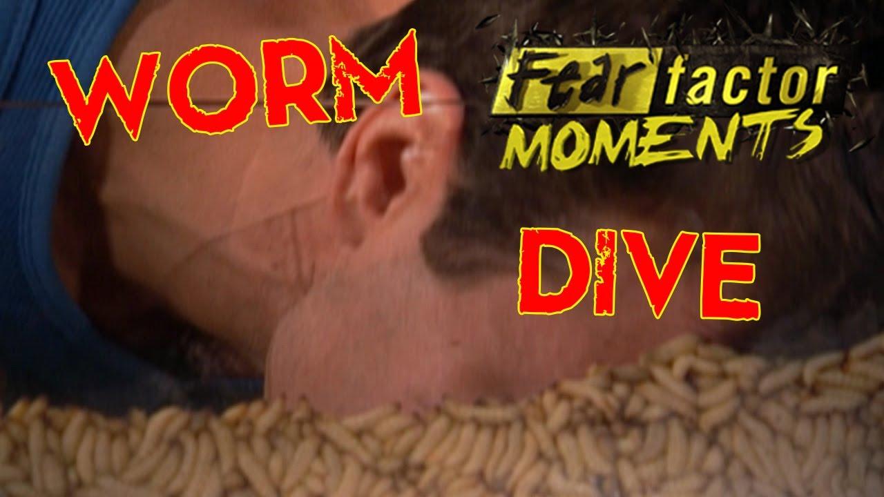 Fear Factor Moments   Bug Tumbler - YouTube  Fear Factor Worms