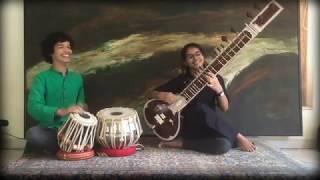 ANVITA SHANKAR on Sitar with KESHAVA on Tabla