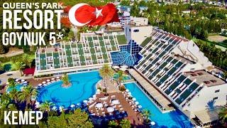 Турция Чем кормят на Все включено Пляж Напитки в барах море QUEEN S PARK RESORT GOYNUK 5 Кемер