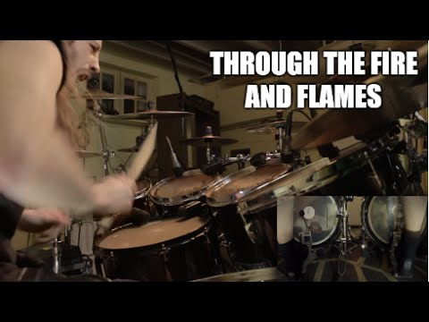 "DragonForce - ""Through The Fire and Flames"" - DRUMS"