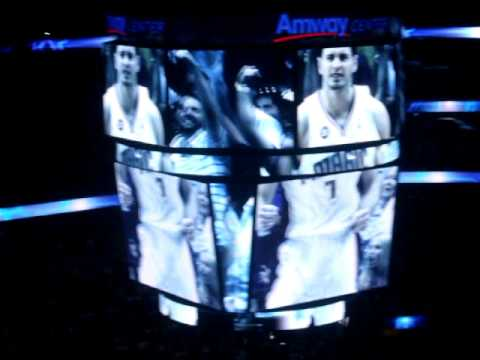 ORLANDO MAGIC HOME OPENER STARTING LINE UP 2010 2011 SEASON