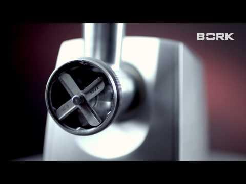 Мясорубка BORK M500: сборка мясорубки - видео инструкция от производителя
