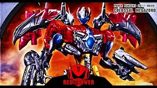 Power Rangers Movie 2017 5-IN-1 Combined Colossal MEGAZORD set review