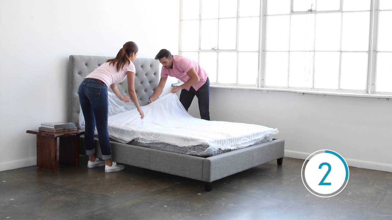 Sealy Mattress In A Box Overview And Demonstration