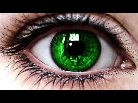 Change your Eye Color to GREEN in 10 SECONDS - Hypnosis