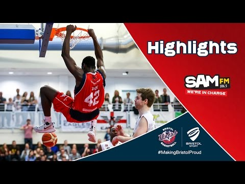 HIGHLIGHTS: Bristol Flyers 94-97 Newcastle Eagles | BBL Play-Off QF First Leg