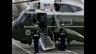President Reagan leaves Washington Jan 20th, 1989.