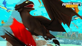 HICCUP & TOOTHLESS need our HELP! - Minecraft Dragons