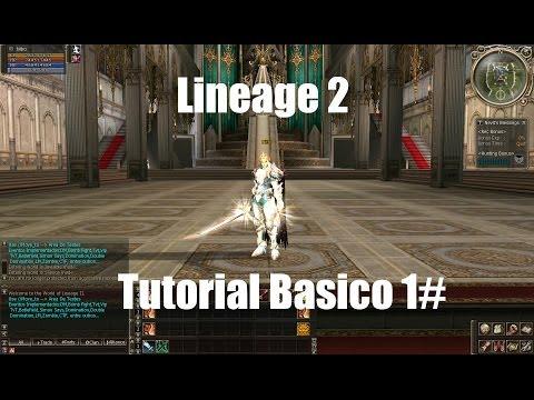 Lineage 2 Tutorial Basico #1 – Conhecendo o Game [PT-BR]