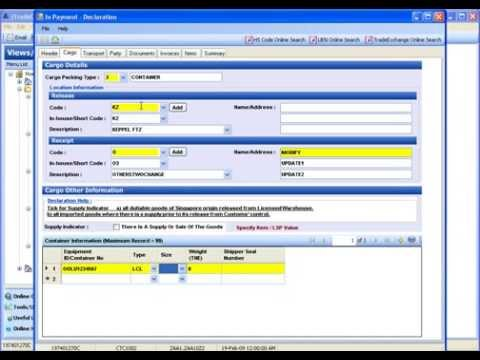 TradeNet4.0v in-payment permit declaration