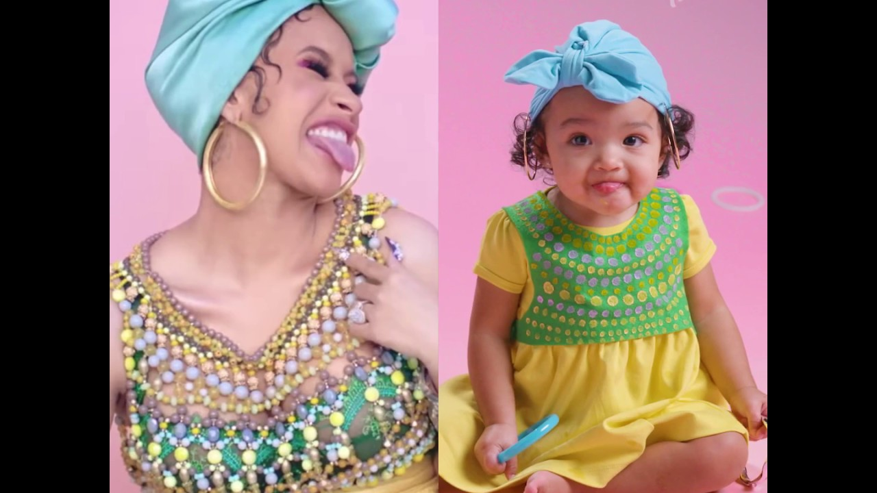 How To Baby Cardi B Costume Diy Youtube