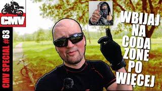 MTB XC na WAT - niebieska ścieżka rowerowa MTB na WAT - GoPro Hero 7 Black test