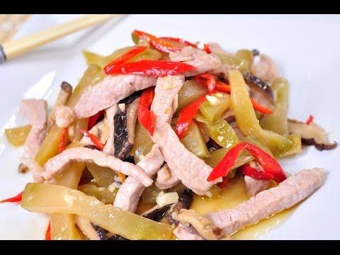 Thai Food – Stir Fried Szechuan Vegetables (Pad Pak Szechaun)