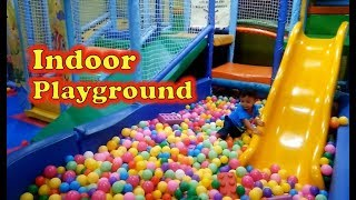 Baby Rei playing in Ball Pits - Indoor Playground