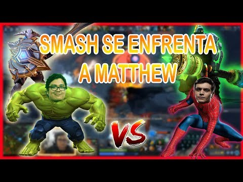 SMASH JUEGA SVEN OFF VS MATTHEW CON SU EARTH SPIRIT!! | DOTA 2 thumbnail