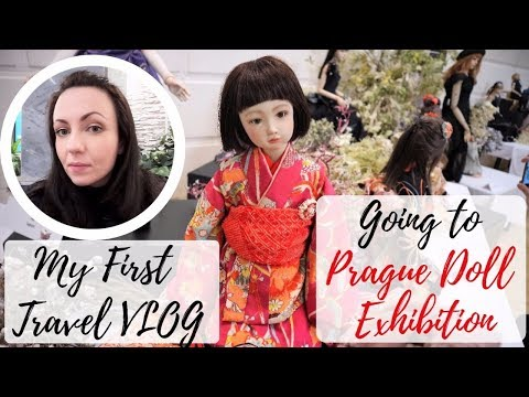 My First Travel VLOG / Going to Prague International Doll Exhibition / Doll Artist Lifestyle