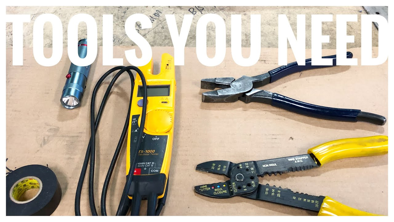 Basic Electrician tools I have in my Tool Bag - YouTube