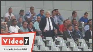 شاهد رد فعل مرتضى منصور بعد الهدف الأول للأهلى