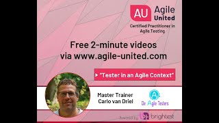 Tester in an Agile context -  Testing in an Agile context