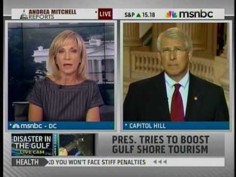 Senator Roger Wicker Discusses Mississippi Gulf Coast with Andrea Mitchell on MSNBC