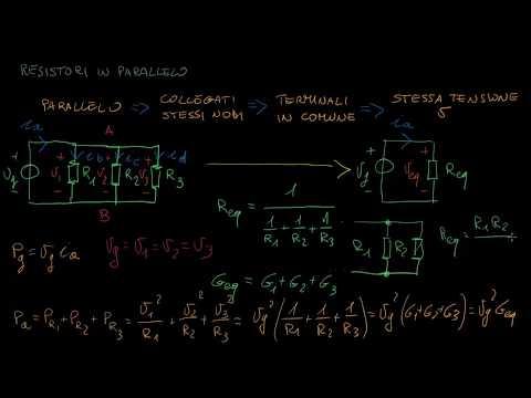 I resistori in parallelo