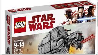 НЕНАВИЖУ НОВЫЕ ЛЕГО ЗВЕЗДНЫЕ ВОЙНЫ! (Lego Star Wars New 2018 Sets)