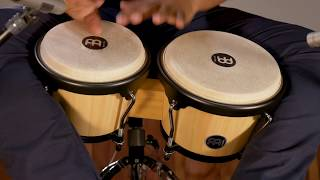 MEINL Percussion Latin Styles on Bongos - HB100NT