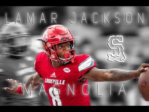 "Lamar Jackson ""Magnolia"" 2016 highlights"