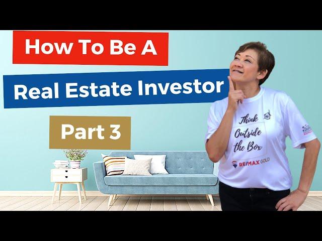 How To Be A Real Estate Investor 3/3 | Kasama Lee, Napa and Solano Counties Realtor