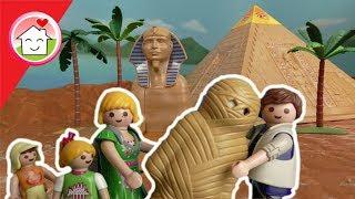 Playmobil Film deutsch - Familie Hauser bei den Pyramiden - Geschichte für Kinder
