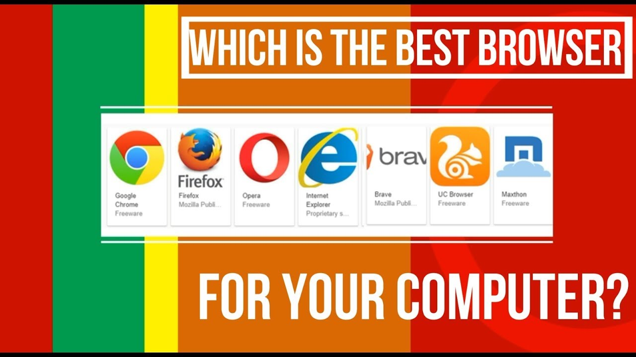 What S The Best Web Browser For Windows 10 7 Or Android High Internet Speed Youtube