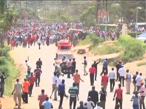Wafuasi wa ODM wakabiliana mjini Migori