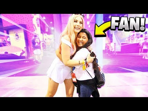 My Girlfriend Meets her BIGGEST FAN!