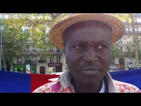 Vincent Mambachaka, artiste centrafricain engagé et membre du CNT