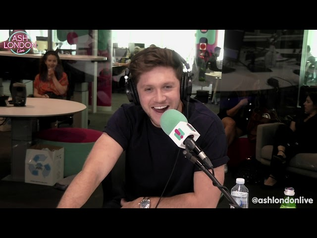 NIALL HORAN On Meeting Lizzo, Giving Girls Numbers on A Napkin & More! | Ash London Live